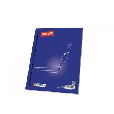 Staples kladblokvulling: Interieurpapier SPLS 23r 70g lijn/pk100v