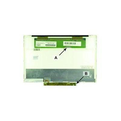 "2-power notebook reserve-onderdeel: 30.734 cm (12.1 "") WXGA 1280x800 LED Matte - Zwart"