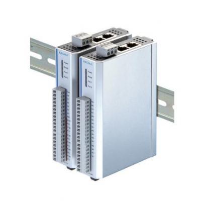 Moxa 2x Ethernet, 8 TCs, Active OPC Server, Modbus/TCP, SNMPv1/v2c, Wide Temperature