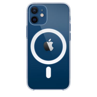 Apple Doorzichtig hoesje met MagSafe voor iPhone 12 mini Mobile phone case - Transparant