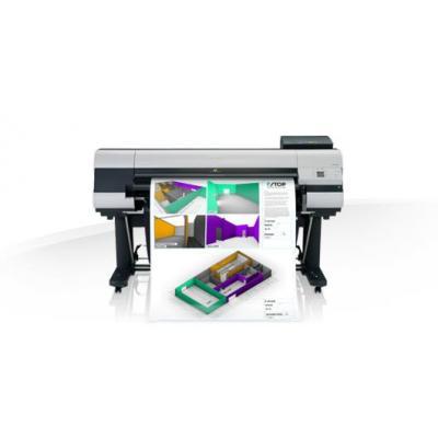 Canon grootformaat printer: imagePROGRAF iPF830 - Zwart, Cyaan, Magenta, Mat Zwart, Geel