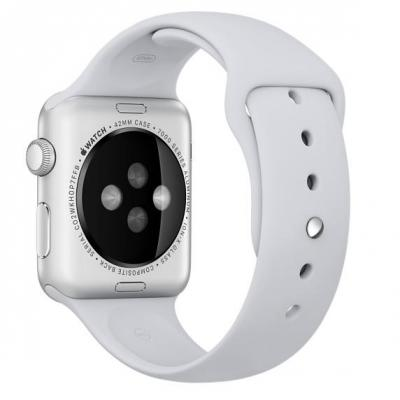 Apple : 42mm Fog Sport Band - Wit