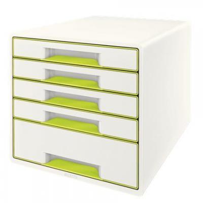 Leitz bureaulade: Wow Cube - Groen, Wit