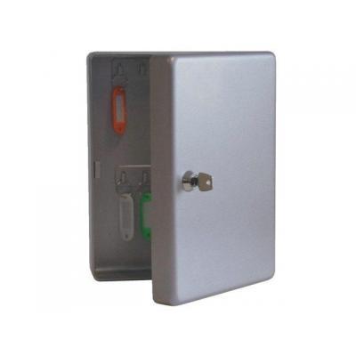 Beaumont sleutelkast: Keycabinet K 20 ( 20 hooks) aluminium colour