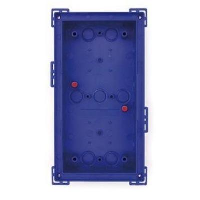 Mobotix T24M\Double On-Wall mount Silver Elektrische aansluitkast - Blauw