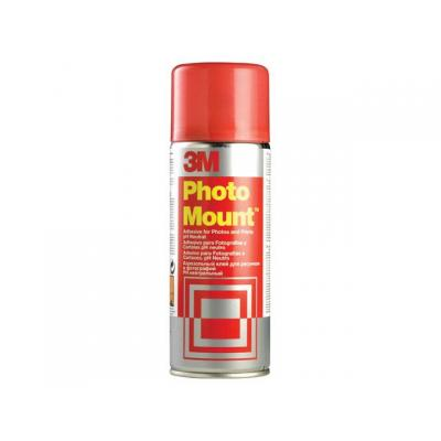 3m lijm: Lijmspray Photo Mount/bus 400ml