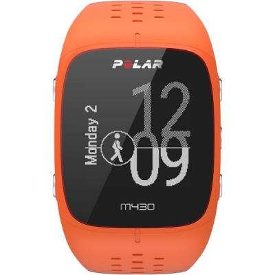 Polar M430 Sporthorloge - Zwart, Oranje