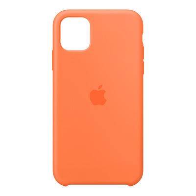 Apple Siliconenhoesje voor iPhone 11 - Vitamine C Mobile phone case - Oranje