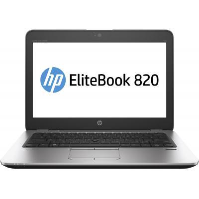 Hp laptop: EliteBook 820 G4 - Zilver