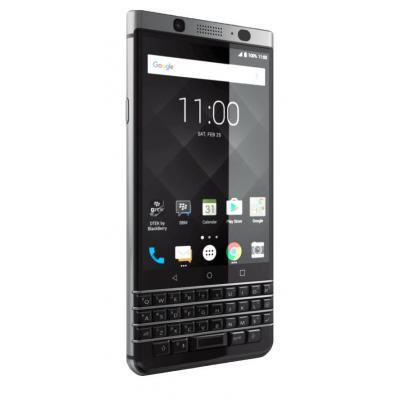 Blackberry smartphone: KEYone - Zwart, Zilver 32GB, QWERTY