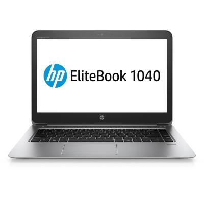 Hp laptop: EliteBook EliteBook 1040 G3 notebook pc (ENERGY STAR) - Zilver (Demo model)