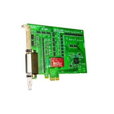 Brainboxes 4 x RS422/485, 9 Pin (M), PCI Express Interfaceadapter - Groen