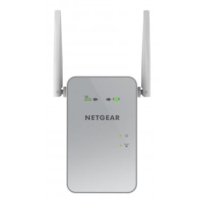 Netgear netwerk verlenger: EX6150 WiFi Range Extender AC1200, Dual-Band - 1 Gigabit poort - Wit