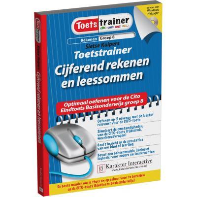 Karakter educatieve software: Toetstrainer Rekenen, Cijferend Rekenen en Leessommen (Groep 8)