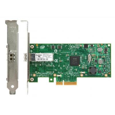 Lenovo netwerkkaart: ThinkSystem I350-F1, PCIe, 1Gb, 1-Port SFP, Ethernet Adapter By Intel - Groen