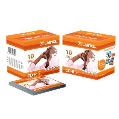Xlyne CD: CD-R 700MB 10 Pack