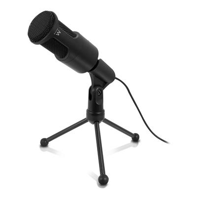 Ewent 50 ~ 16000Hz, -30dB, 3.5mm, 2m Microfoon - Zwart