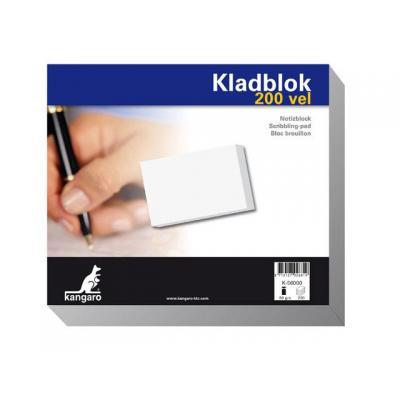 Kangaro schrijfblok: Kladbloko 230x198mm/pk 5