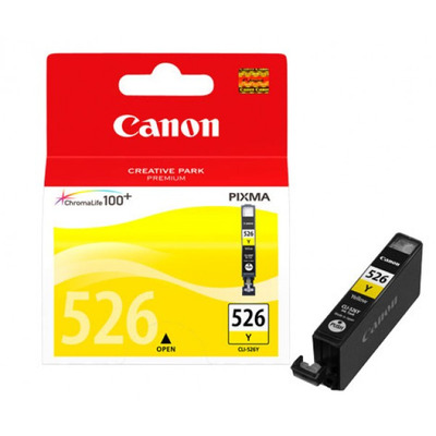 Canon CLI-526 Y Inktcartridge - Geel