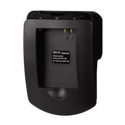 Hama Adapter Plate f/ Samsung SLB-10A Oplader - Zwart