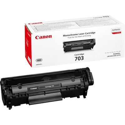 Canon 703 Toner - Zwart