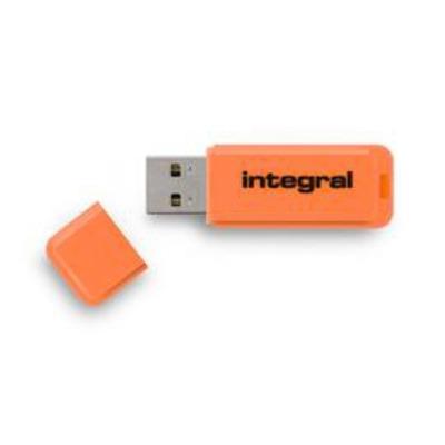 Integral NEON USB flash drive - Oranje