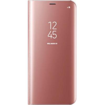Samsung mobile phone case: Galaxy S8+ Clear View Standing Cover - Roze