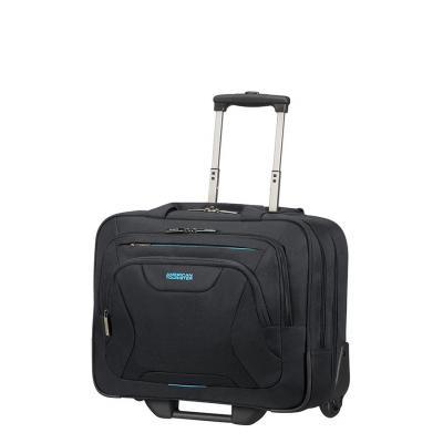 American tourister bagagetas: Rolling Tote 15.6″, Black - Zwart