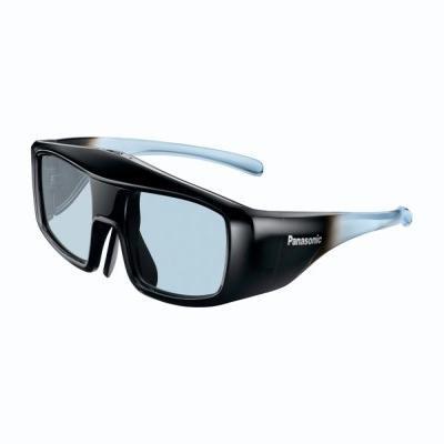 Panasonic 3D-Brillen: TY-EW3D3ME Aktive 3D glazen - Zwart, Blauw