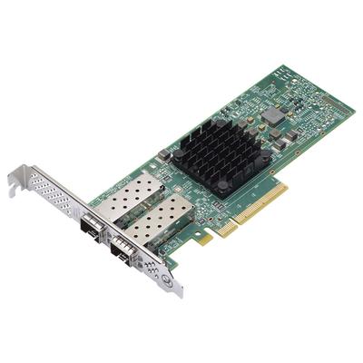 Lenovo Broadcom 57414 10/25GbE SFP28 2-port PCIe Netwerkkaart - Groen, Metallic