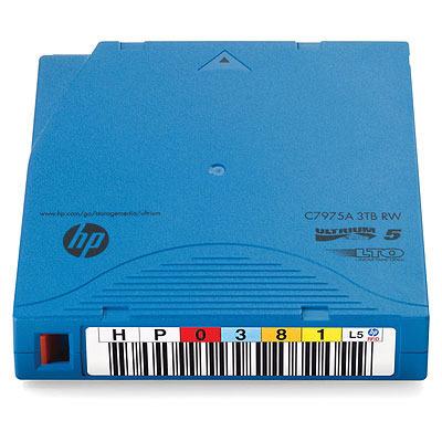 Hewlett Packard Enterprise LTO-5 Ultrium 3TB RFID RW Datatape - Blauw