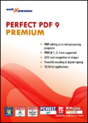 Soft xpansion tekstverwerker: Perfect PDF 9 Premium (download versie)