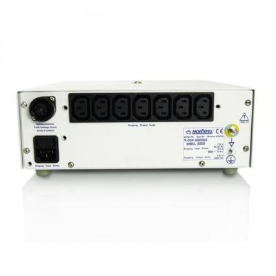 Baaske medical voltagetransformator: Isolation Transformer IMEDe 3rd 2000 VA 230V - Grijs