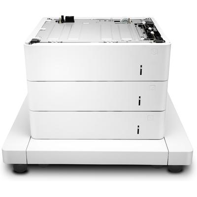 HP LaserJet voor 3 x 550 vel papierinvoer met kast Papierlade - Wit