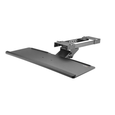 StarTech.com Toetsenbordhouder voor onder bureau uittrekbaar en verstelbaar 67 cm breed ergonomische .....