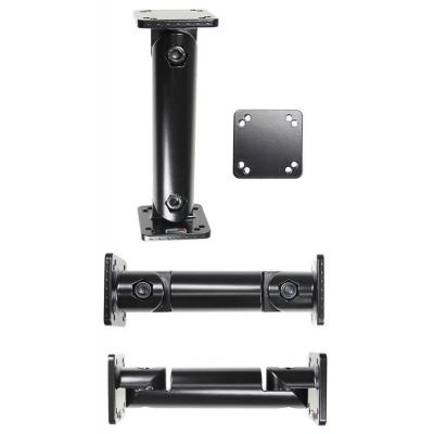 "Brodit Pedestal mount 15.24 cm (6"") . Total length: 150 mm, Mounting plate: 50x50 mm, 2xAMPS holes, Includes 1 ....."