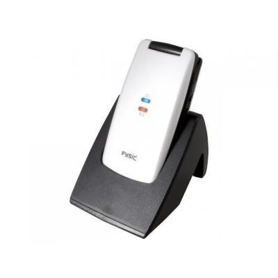 Fysic mobiele telefoon: FM-9700W, WAP/GPRS, 0.3MP, SMS, Micro-SD - Wit