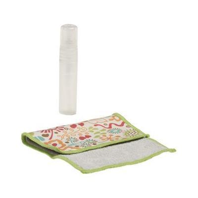 König reinigingskit: Mini Screen Cleaning Kit, Flowers - Multi kleuren