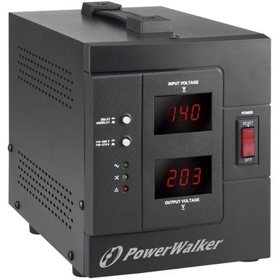 PowerWalker AVR 1500/SIV Voltage regulator - Zwart