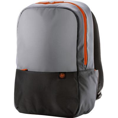 HP Duotone Rugzak - Zwart, Grijs, Oranje