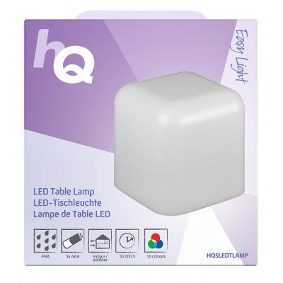 Hq mood lighting: LED Table Mood Lamp White / RGB - Wit