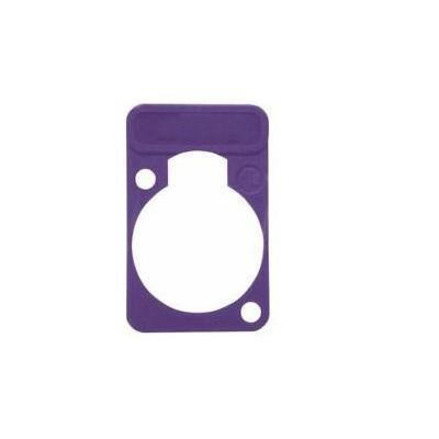 Neutrik Colored lettering plate, Violet, 100 pcs.