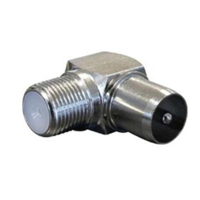 Maximum F-female -> IEC male angle HF shielded, 100 PCS coaxconnector