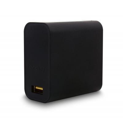 Lenovo netvoeding: 40W Slim travel Adapter - Zwart