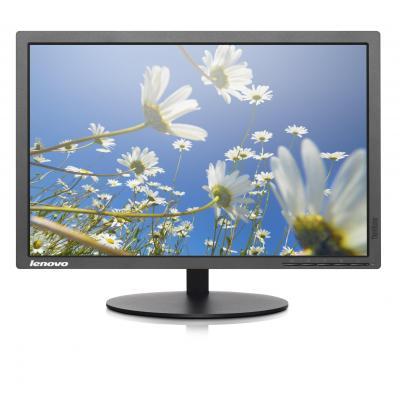 Lenovo monitor: ThinkVision T2054p - Zwart