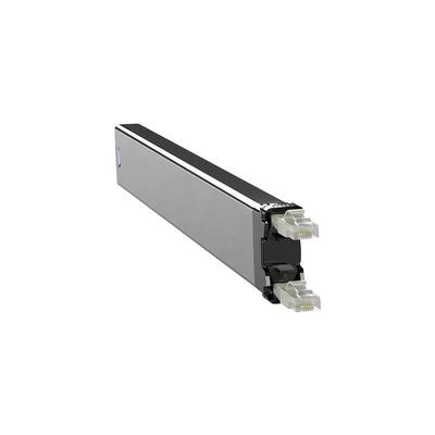 PATCHBOX 365 Cat. 6 Cassette, 50mm x 690mm x 50mm, 0.32kg - Zwart,Grijs,Zilver