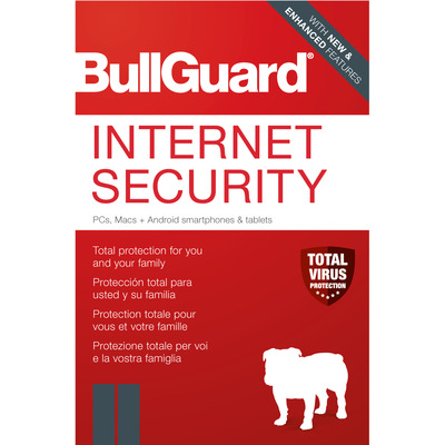 BullGuard Internet Security Software licentie