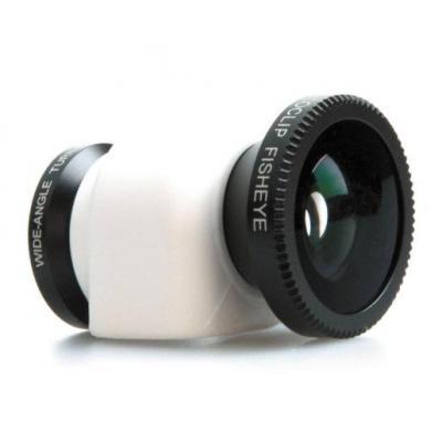 Olloclip : 3in1, Apple iPhone 5c, Black/White, 17.0 g - Zwart, Wit