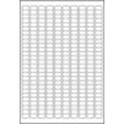 Avery Afneembareten, wit, 17,8 x 10,0 mm Etiket