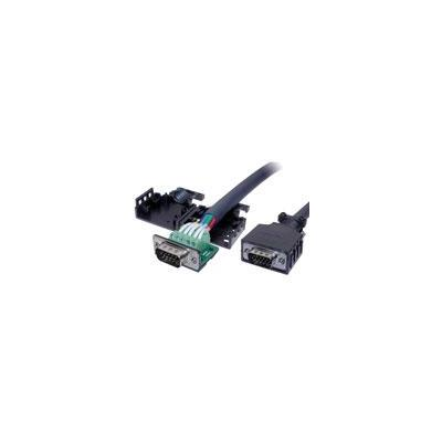 Intronics electrische connectordop: D-Sub kap voor schroefbare D-Sub connectors